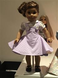 Rebecca R. verified customer review of 1950's Sock Hop Dress 18 Doll Clothes Pattern