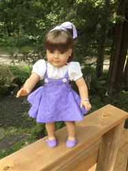 Evelyn T. verified customer review of 1950's Sock Hop Dress 18 Doll Clothes Pattern