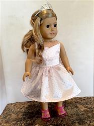 Wrap Top Dress 18 Doll Clothes Pattern
