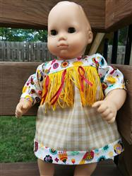 Lora Garrison verified customer review of Baby Powwow 15 Doll Clothes Pattern