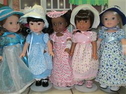 Pauline Nissen verified customer review of Sense & Sensibility 14.5 Doll Clothes Pattern