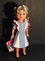 Sewbig verified customer review of Waikiki Waves Dress 14.5 Doll Clothes Pattern