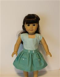 Sharon verified customer review of Nautical Top & Removable Collar 18 Doll Clothes Pattern