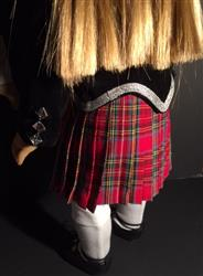 Sewbig verified customer review of Girl's Highland Dance Jacket, Vest and Dickey 18 Doll Clothes Pattern