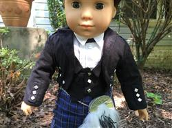 Melangell verified customer review of Boy's Highland Bundle 18 Doll Clothes Pattern