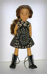 Stacey Graves verified customer review of Polka Dot Party Dress Pattern for Kruselings Dolls