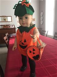 Linda M. verified customer review of Halloween Costumes 13 - 14.5 Doll Clothes Pattern