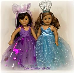 Julie Helmer verified customer review of Unicorns & Sugarplums 18 Doll Clothes Pattern