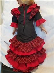 Hilary E. verified customer review of Spanish Dancer 18 Doll Clothes Pattern