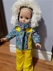 Bonnie W. verified customer review of Sofie's Winter Sports Outfit 18 Doll Clothes Pattern