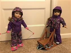 Karen L. verified customer review of Sofie's Winter Sports Outfit 18 Doll Clothes Pattern