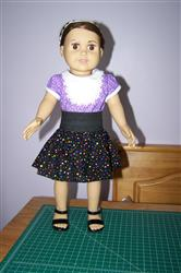 Steam Bib Top 18 Doll Clothes Pattern