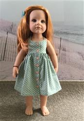 Elsje verified customer review of Endless Summer Halter Dress & Top Pattern for Kidz N Cats and 19 Gotz Dolls