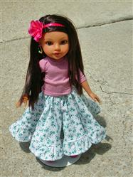 Charlene verified customer review of Fiesta Folklorico Dress & Blouse 14-14.5 Doll Clothes Pattern