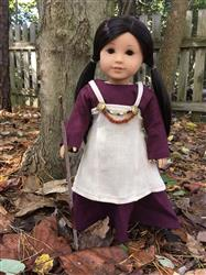 Melangell verified customer review of Viking Dress 18 Doll Clothes Pattern