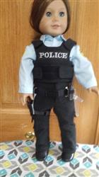Pamela F. verified customer review of Law Enforcement Uniform 18 Doll Clothes Pattern
