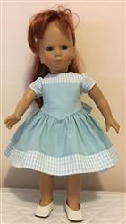 Home verified customer review of The Lovely V-Waist Dress 18 Doll Clothes Pattern