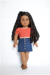 Amy S. verified customer review of Button Front Mini Skirt 18 Doll Clothes pattern