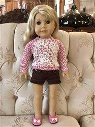 ginnie verified customer review of Piccadilly Sweater and Skirt Bundle 18 Doll Clothes Pattern