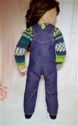 Oh My Gosh Overalls 18 Doll Clothes