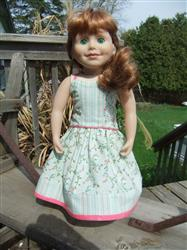 Gail O. verified customer review of Serenade Maxi Dress 18 Doll Clothes Pattern