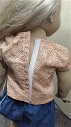 Heather Nielson verified customer review of Joy Blouse 18 Doll Clothes Pattern