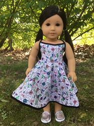 Melangell verified customer review of Sweet All Around Sundress 18 Doll Clothes Pattern