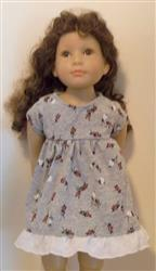 Marsha H. verified customer review of Baby Doll Dress 18 Doll Clothes Pattern