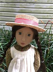 Melangell verified customer review of Victorian & Edwardian-Style Boater Hat Pattern for 13-18 Inch Dolls