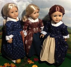 keroack, k. verified customer review of 1770 En Forreau' Gown 18 Dolls Clothes Pattern