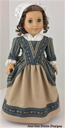 Ann Van Doren verified customer review of 1770 En Forreau' Gown 18 Dolls Clothes Pattern