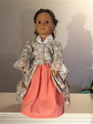 Laura verified customer review of 1770 En Forreau' Gown 18 Dolls Clothes Pattern