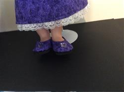 Joan L. verified customer review of Plain Jane 18 Doll Shoes
