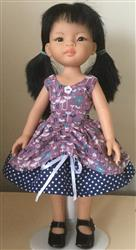 Paula verified customer review of Maddy Lou Dress Pattern for Les Cheries and Hearts for Hearts Girls Dolls