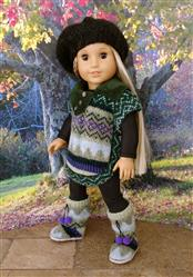 Joan  verified customer review of Poncho 18 Doll Clothes