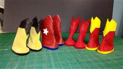 Betty L. verified customer review of Superhero Boots 18 Doll Shoes