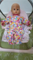Bohumila S. verified customer review of Simply Sweet Sleeper and Cap 15 Doll Clothes Pattern