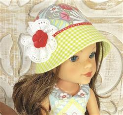 Debra A Henricks verified customer review of Cloche Hat for 13-14.5 Dolls