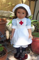 Julia H. verified customer review of Edith  WW1 VAD Nurse Uniform 18 Doll Clothes Pattern