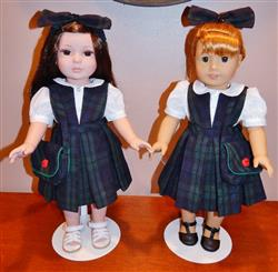 School Daze Jumper and Blouse 18 Doll Clothes Pattern
