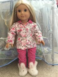 Jan R. verified customer review of Heartwarming Pajamas 18 Doll Clothes Pattern