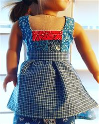 Stephanie C. verified customer review of Dirndl 18 Doll Clothes Pattern