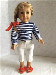 Cropped Sweater 18 Doll Clothes Pattern