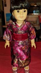 Roxie D. verified customer review of Kimono / Bathrobe 18 Doll Clothes Pattern