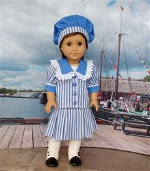 Joan Duquette verified customer review of Harriet - Edwardian Style Sailor Outfit 18 Doll Clothes Pattern