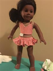 Serwaah C. verified customer review of Sun Bathing Cutie 18 Doll Clothes