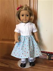 The Shelby Shirtwaist 18 Doll Clothes