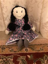 Melissa H. verified customer review of Charlotte 18 Cloth Doll Pattern