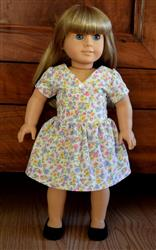 Flour Sack Frock 18 Doll Clothes Pattern