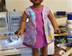 margaret a. verified customer review of Scalloped A-line Dress 18 Doll Clothes